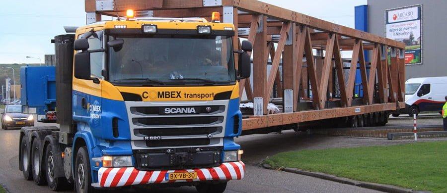 houten vakwerkbrug bussum